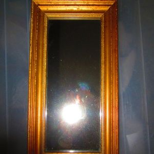 Other - Small wall mirror in gold tone frame